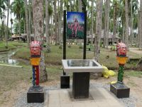 Paramaribo 08 - monument for Amerindians