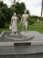 Paramaribo 14 - immigration monument