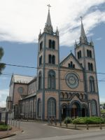 Paramaribo 28 - splendidly refurbished cathedral