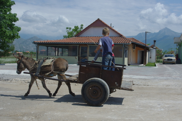 Albania 6 - the two main means of transport