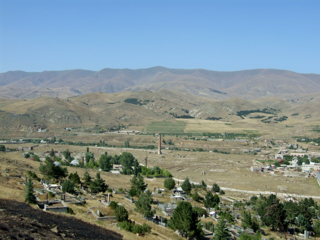 Spitak 2 - view from the cemetery