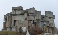 Vienna 26e - brutalist church