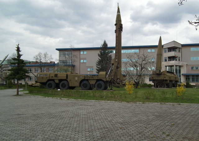 Sofia Military Museum 02 - main buildings and missiles