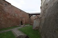 Spilberk Castle 12 - moat with gallows