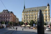 Brno 02 - astronomical clock on Liberty Square