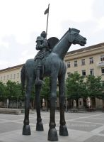 Brno 12 - knight on oversized horse