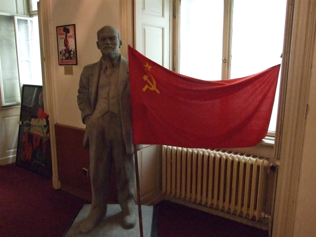 Prague museum of communism inside