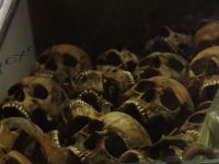 Red Terror Museum 15 - skulls from a mass grave