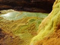 Danakil 07 - surreal sulphur shapes