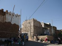 Harar 35 - khat market outside the city walls
