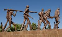 Mekele 05 - Tigrayan Martyrs Monument soldier statues