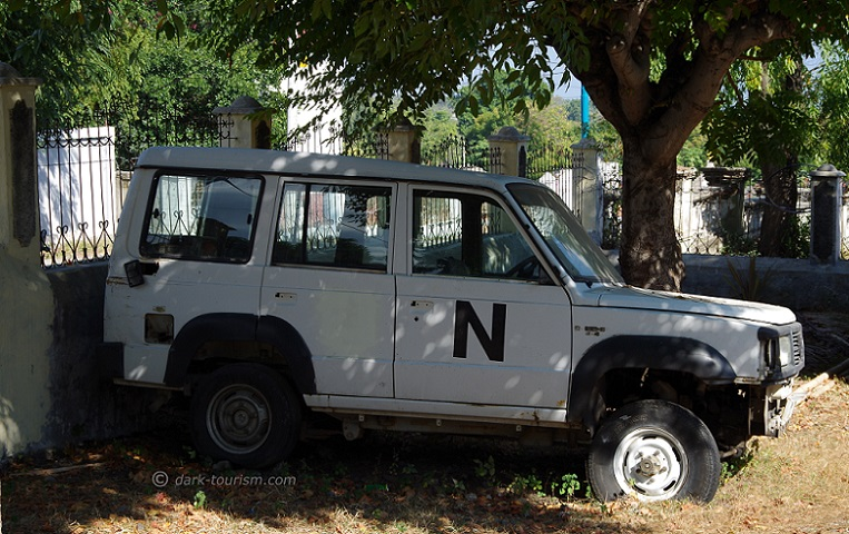 13 11 15   former UN vehicle left behind from 1999, East Timor