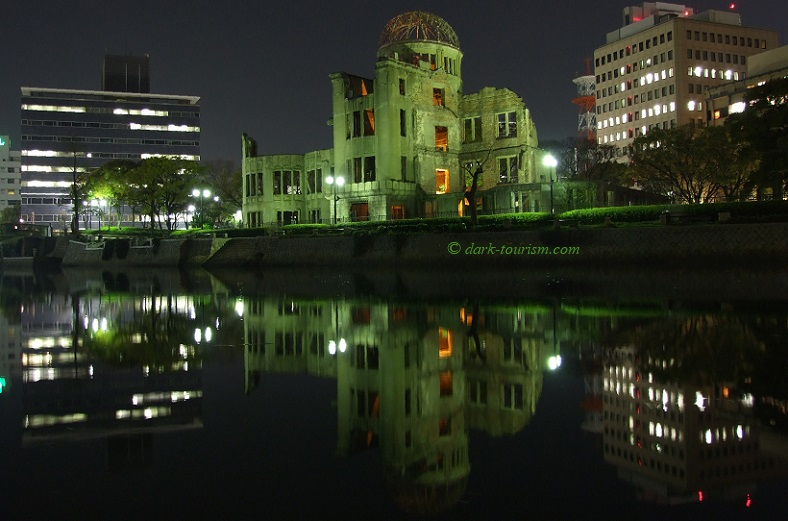 19 06 15   Hiroshima A Bomb Dome by night