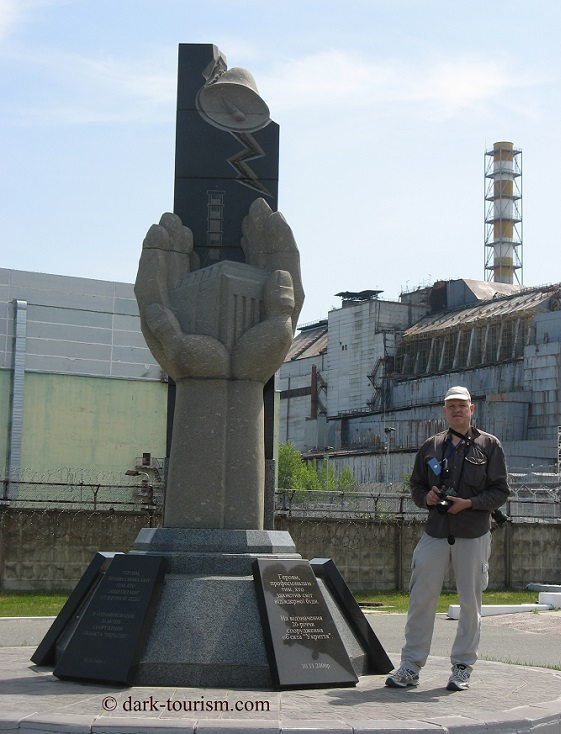 28 05 15   yours truly at Chernobyl