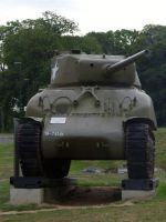 D-Day Tour 20 - Sherman tank