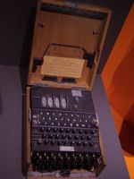 Caen Memorial 08 - Enigma machine