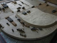 Liberation Museum 16b - war-time harbour diorama
