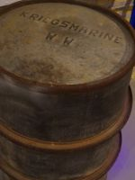 Dunkirk 12 - German navy fuel barrel