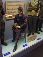 Reims 13 - blond female Nazi dummy