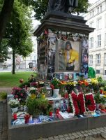 Munich 22 - Muchael Jackson remembrance shrine
