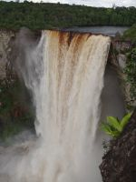 Guyana 04 - Kaieteur Falls; five times higher than Niagara Falls