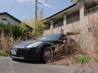 Fukushima 27 - abandoned sports car
