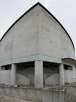 Fukushima 61 - ship-bow-shaped school building