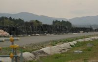 Fukushima 67 - topsoil-bag storage facility