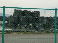 Fukushima 68 - numbered bags with contaminated topsoil