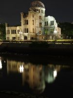 A-Bomb Dome 15 - by night with proper white balance in 2019