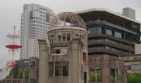 A-Bomb Dome 16 - architectural clashes, some new, in 2019