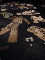 Hiroshima Peace Museum 10 - clothing of various victims