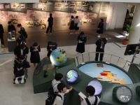Nagasaki Atomic Bomb Museum 17 - lots of school groups visit