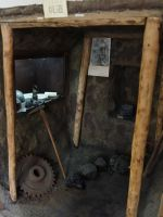 Oka Masaharu Memorial Peace Museum 7 coal mine mock-up