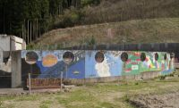 Okawa school 22 - old murals