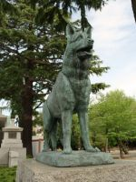 Yushukan 29 - dog of war statue
