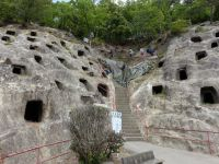 Yoshimi caves 2a - the old 100 Caves of Yoshimi