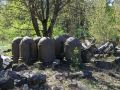 Riga cemeteries 18 - dumped in the forest