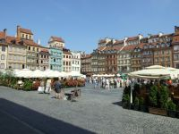 Warsaw 18 - old town main square