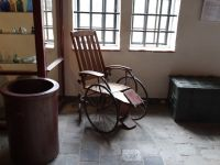 Fort Zeelandia 10 - old wheelchair