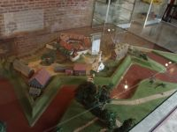 Fort Zeelandia 18 - model of the fort as it used to be
