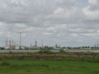 Suriname 15 - oil refinery on the Suriname River