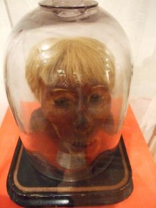 Kriminalmuseum Wien 3 - mummified executee head