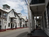 Paramaribo 23 - wooden buildings need a lot of maintenance in this climate