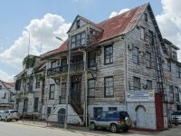Paramaribo 25 - social affairs ministry building in need of TLC itself