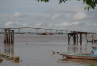 Paramaribo 40 - Suriname River and bridge