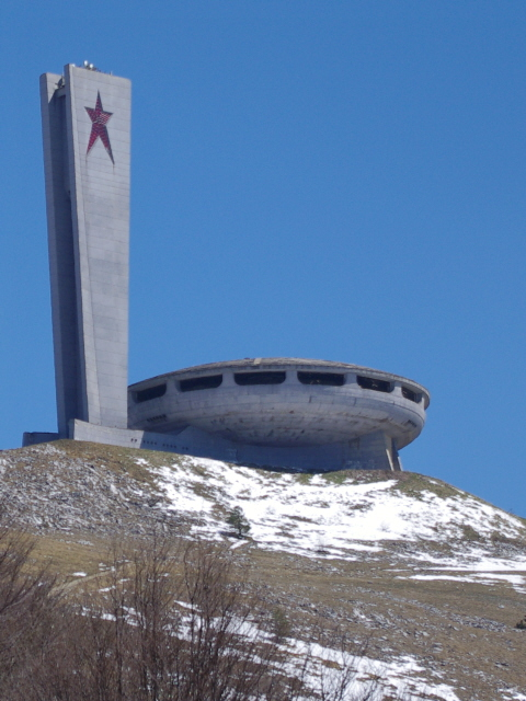 Buzludzha 43 - a last view back