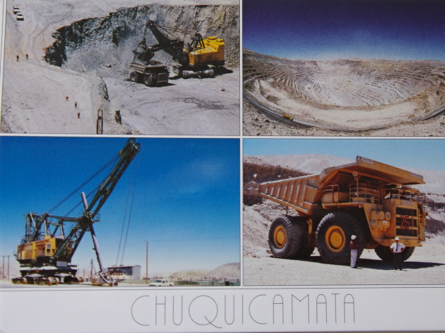 Chuquicamata post card
