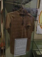 Red Terror Museum 10 - shirt with bullet holes