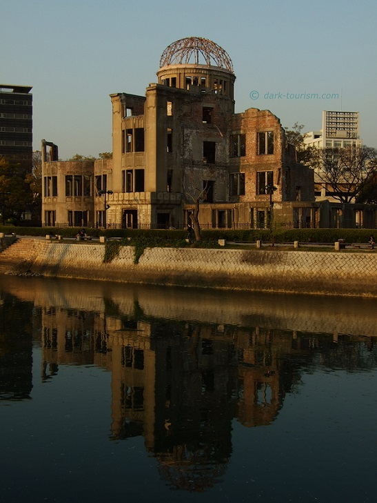 05 12 2017   Hiroshima A Bomb Dome in evening light